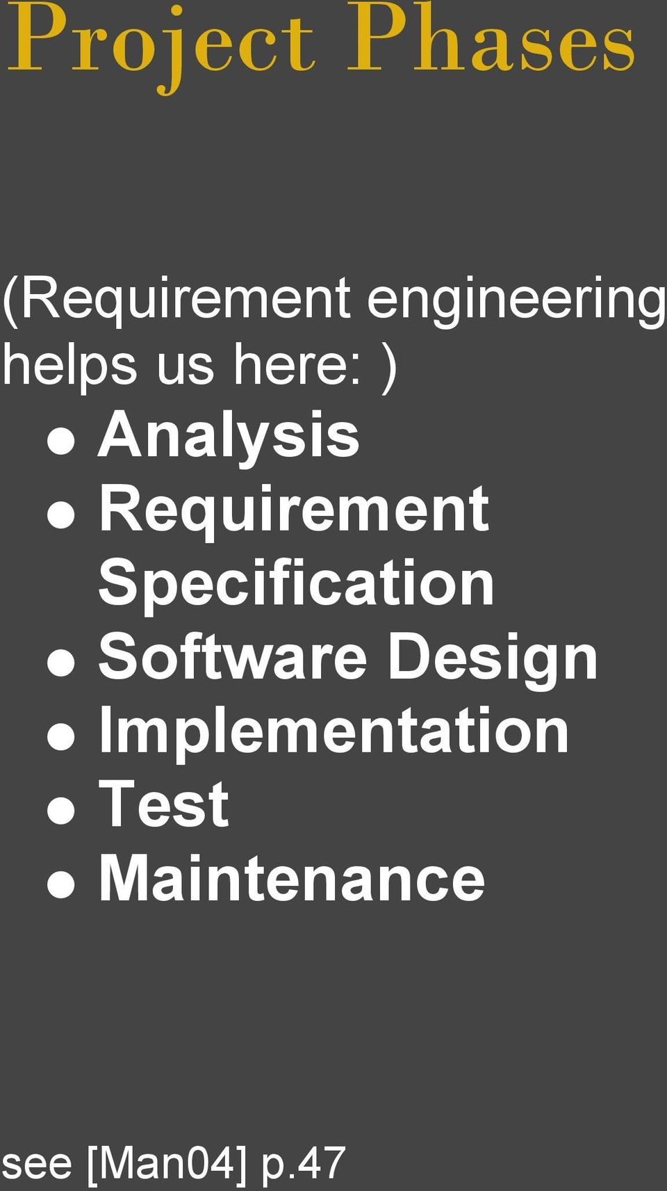 Requirement Specification Software