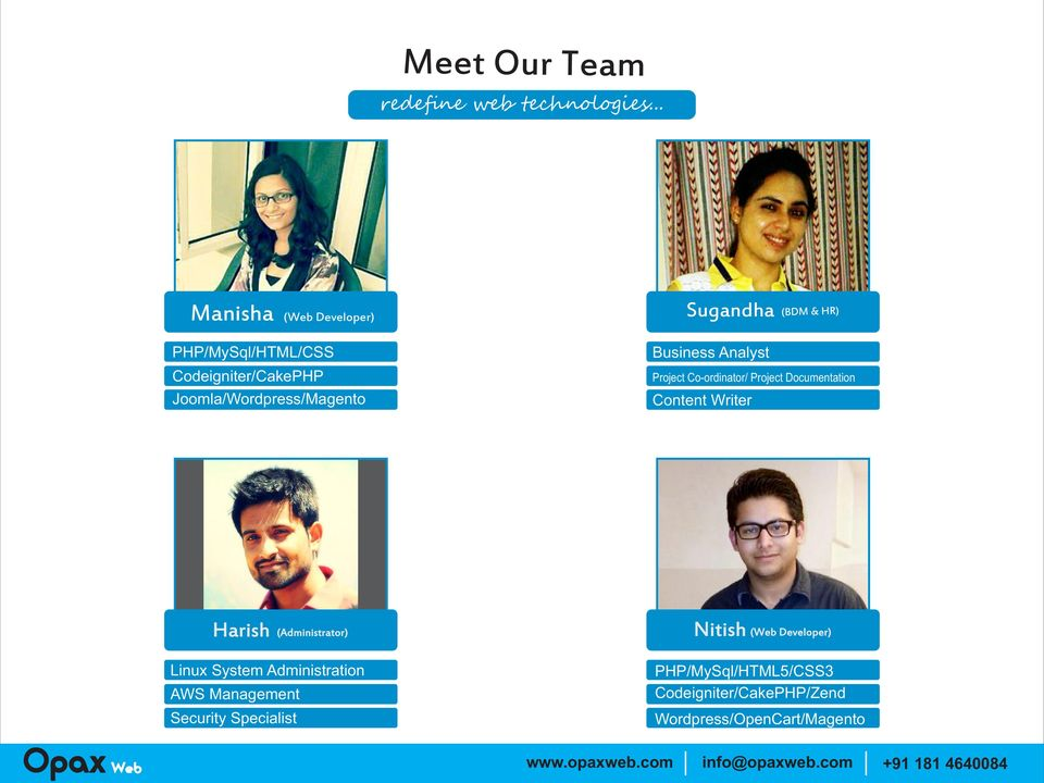 Business Analyst Prject C-rdinatr/ Prject Dcumentatin Cntent Writer Harish (Administratr) Nitish (Web