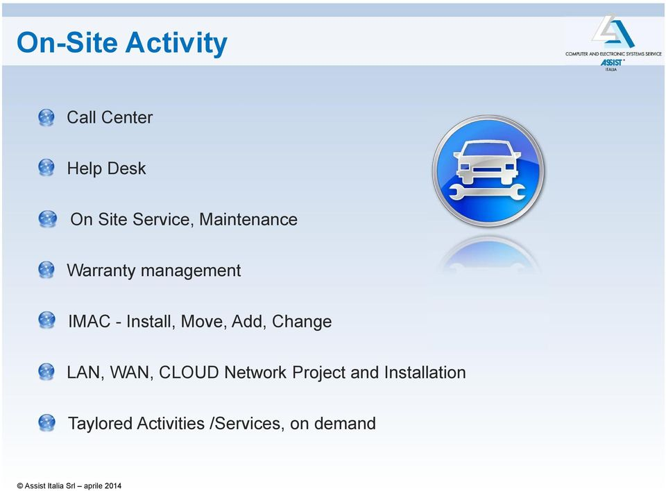 Install, Move, Add, Change LAN, WAN, CLOUD Network