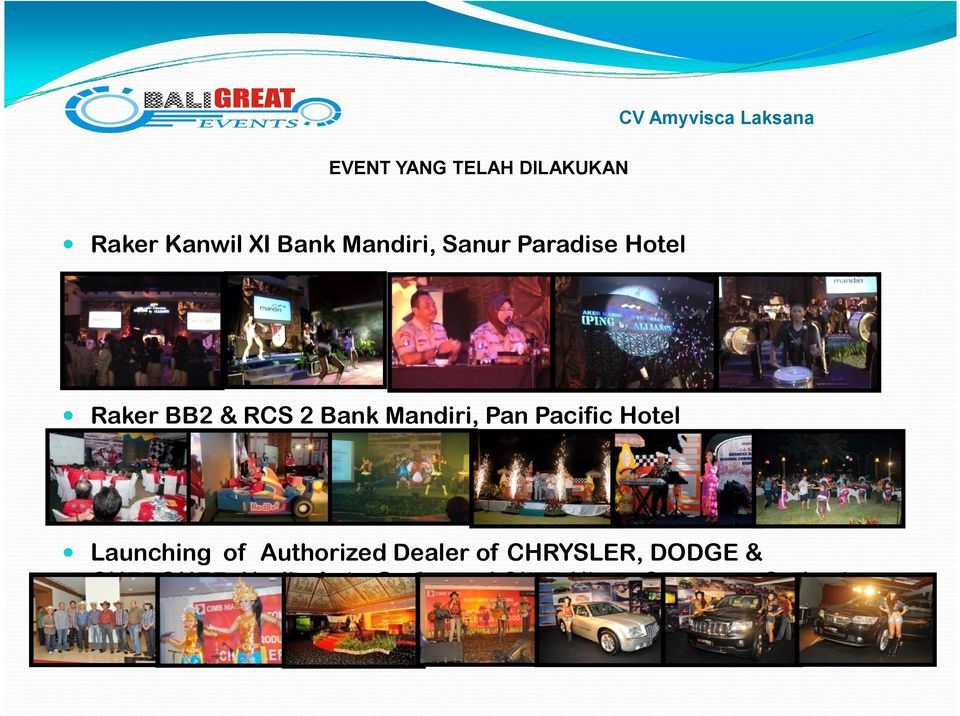 Mandiri, Pan Pacific Hotel Launching of Authorized Dealer of