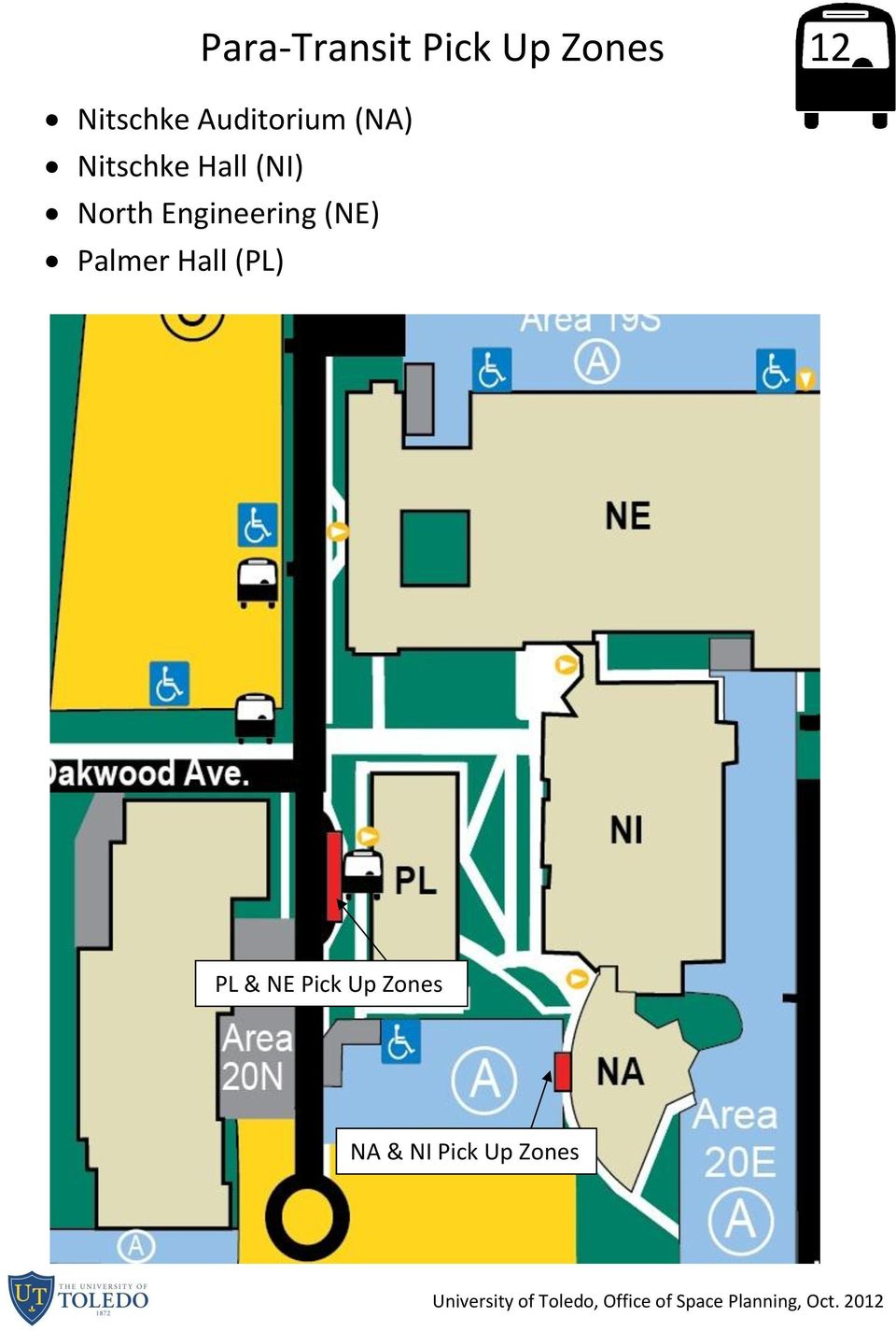 North Engineering (NE) Palmer Hall (PL)