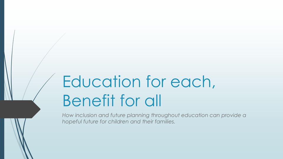 throughout education can provide a