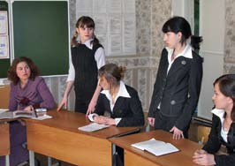 relevant to social progress and the development of the individual. As of January 2007, a total of 92 study groups had been formed at five college-level institutions. of Tatarstan.
