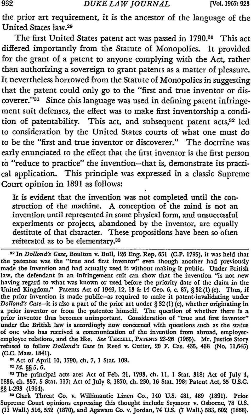 It provided for the grant of a patent to anyone complying with the Act, rather than authorizing a sovereign to grant patents as a matter of pleasure.