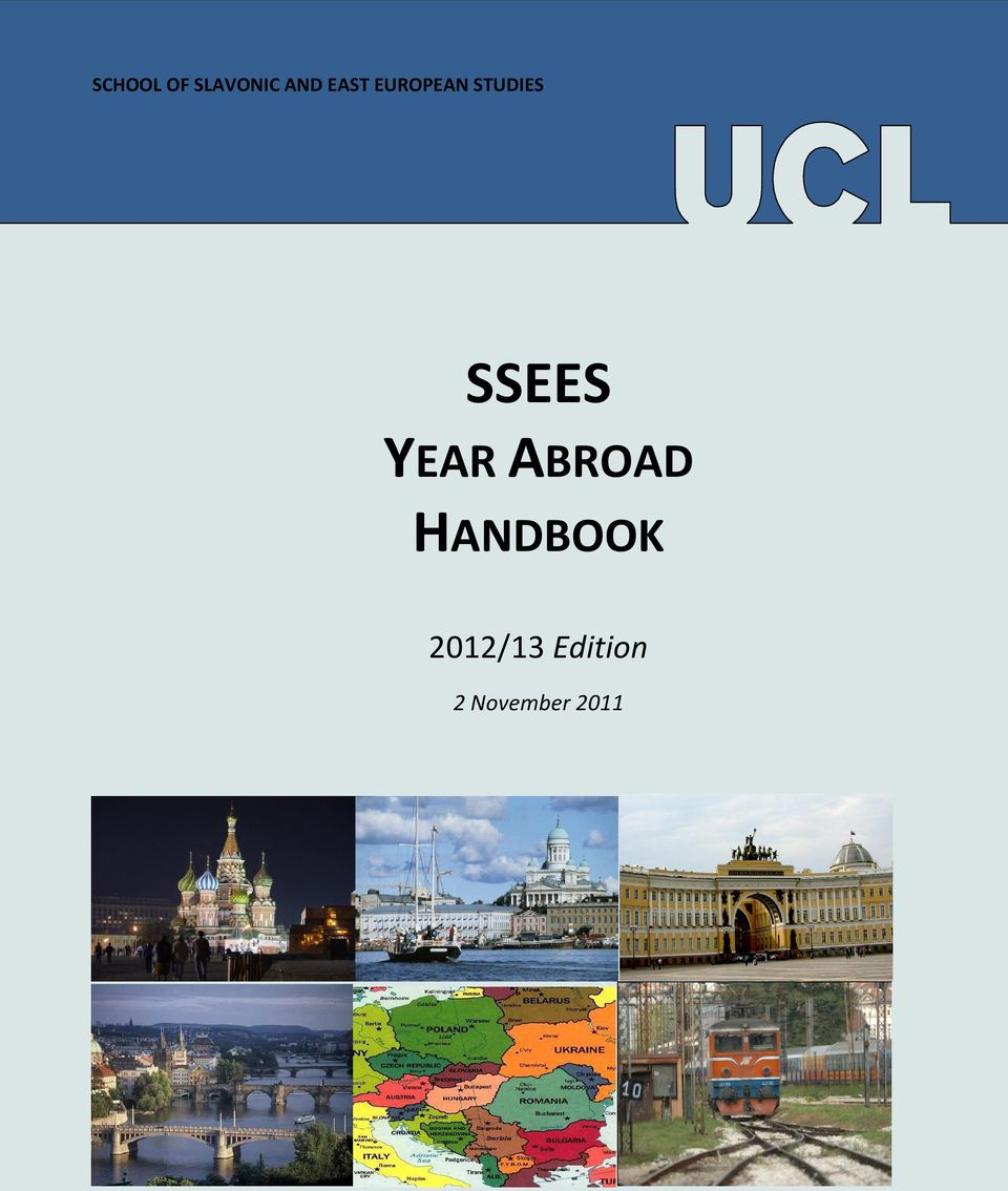 SSEES YEAR ABROAD