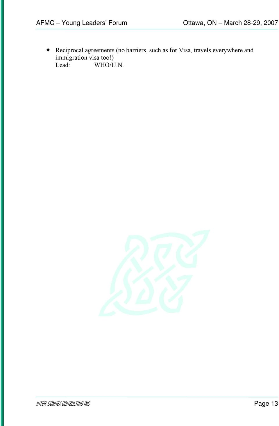 and immigration visa too!