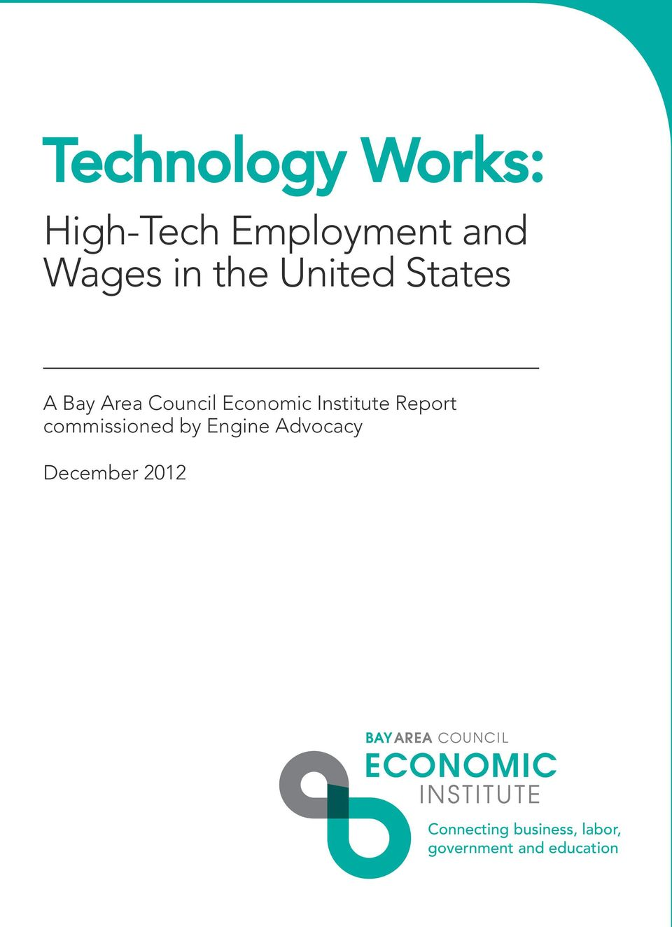 Institute Report commissioned by Engine Advocacy