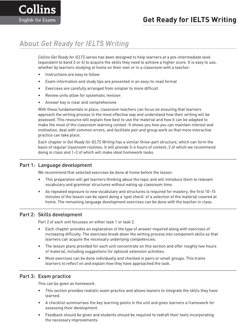 format Exercises are carefully arranged from simpler to more difficult Review units allow for systematic revision Answer key is clear and comprehensive With these fundamentals in place, classroom