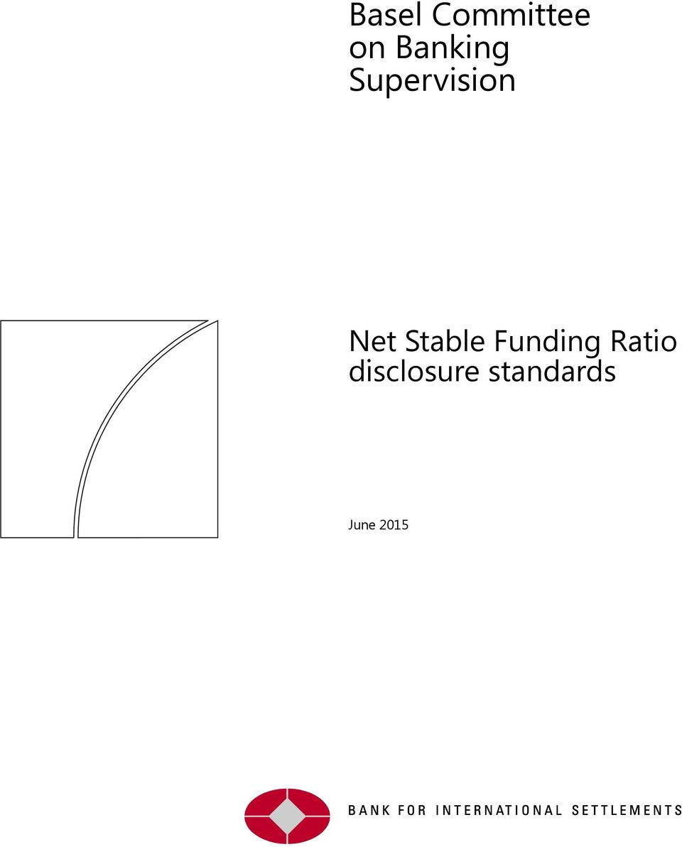 Stable Funding Ratio
