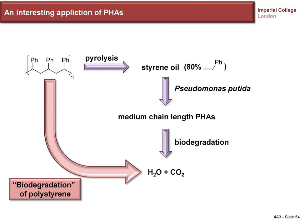 chain length PHAs biodegradation