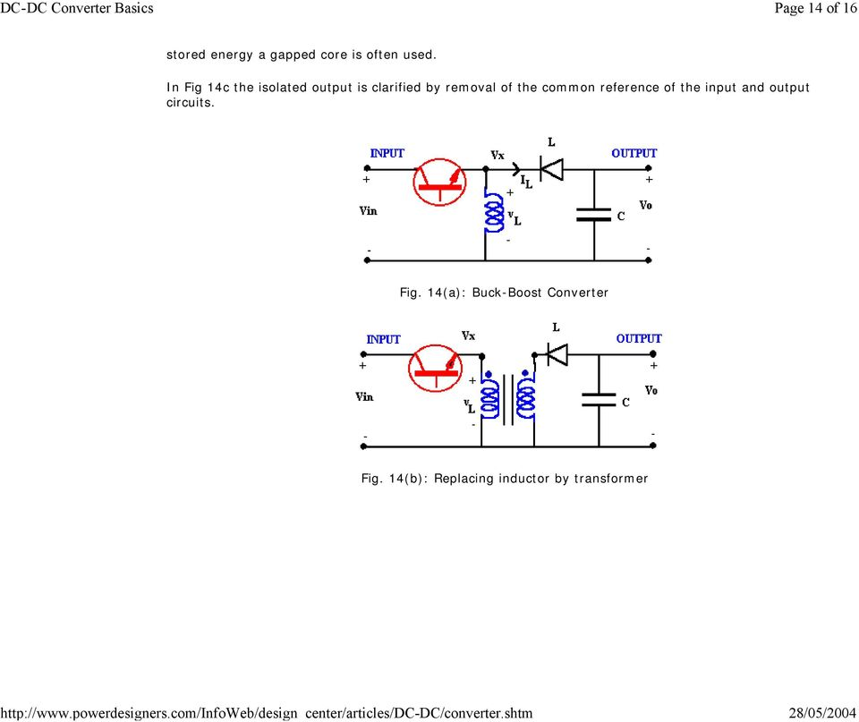 common reference of the input and output circuits. Fig.