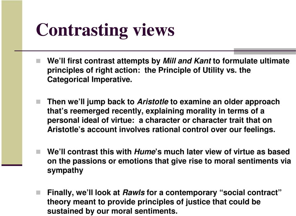 that on Aristotle s account involves rational control over our feelings.