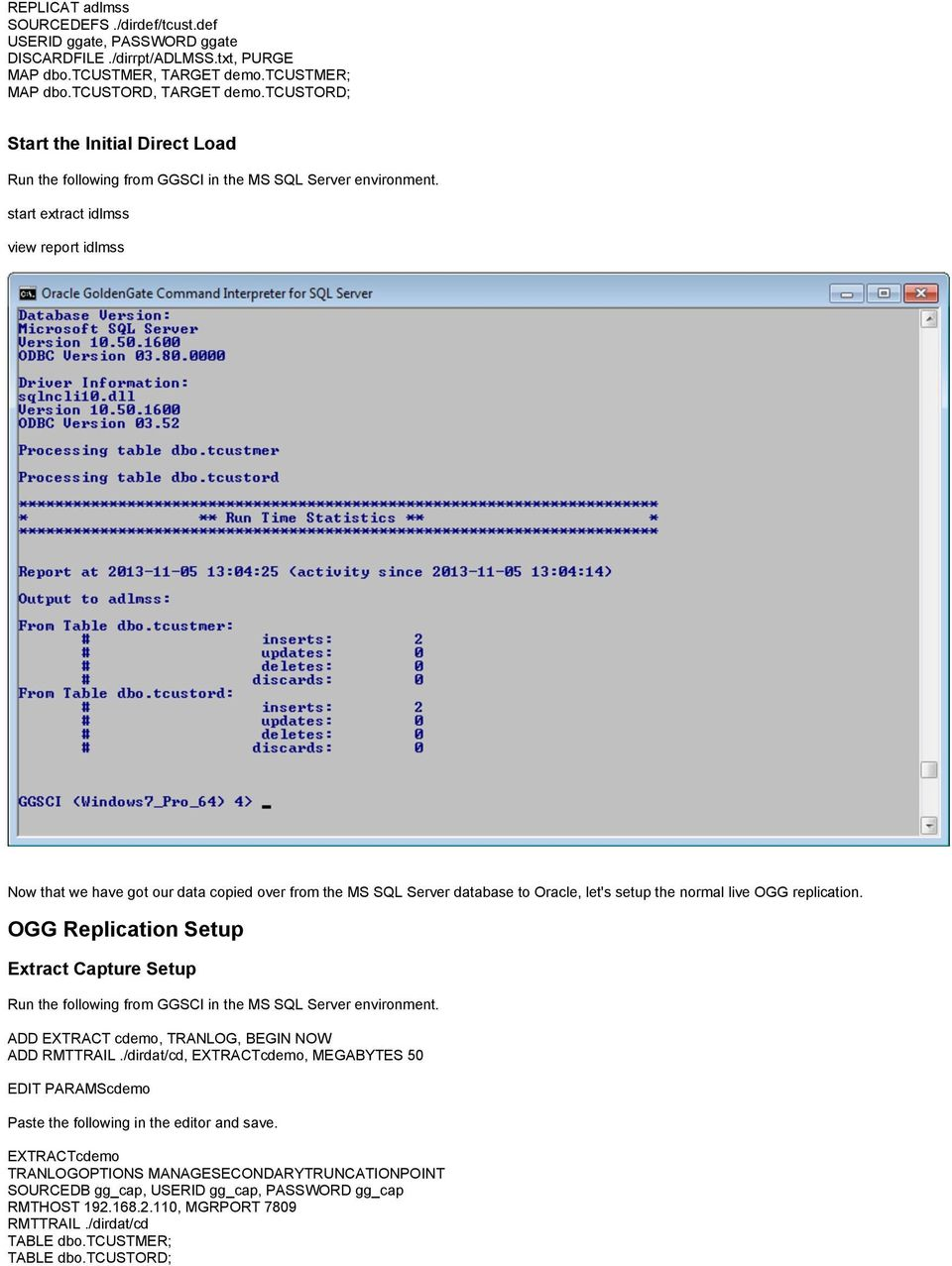 OGG Installation on Windows for MS SQL Server - PDF