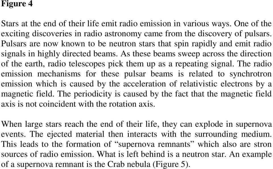 As these beams sweep across the direction of the earth, radio telescopes pick them up as a repeating signal.
