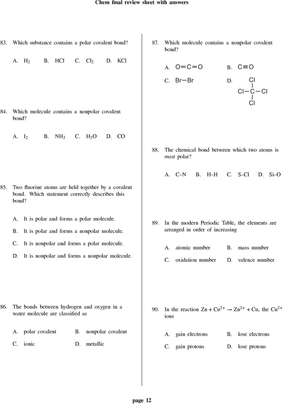 Worksheet periodic trends which statement best describes group 2 worksheet periodic trends which statement best describes group 2 urtaz