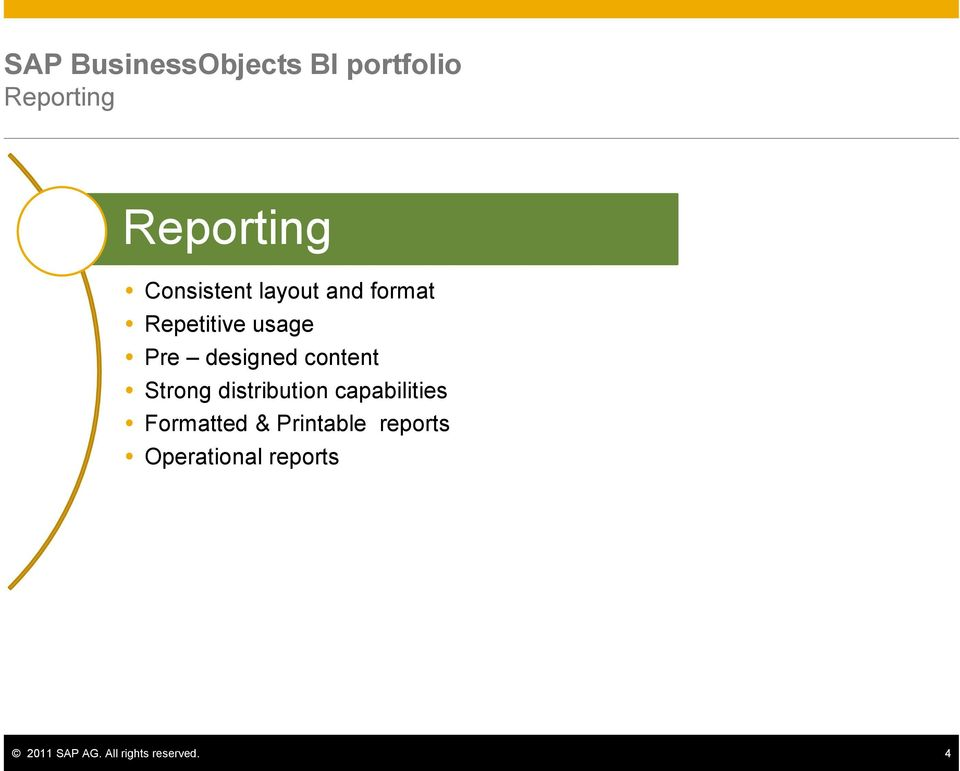 content Strong distribution capabilities Formatted &