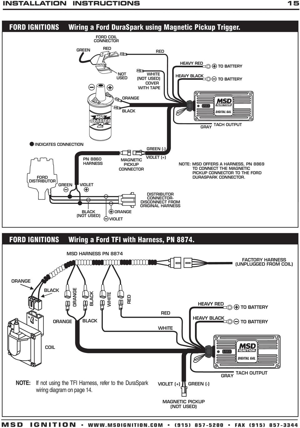 msd pick up coil wiring diagram 1966 ford pick up alternator wiring diagram