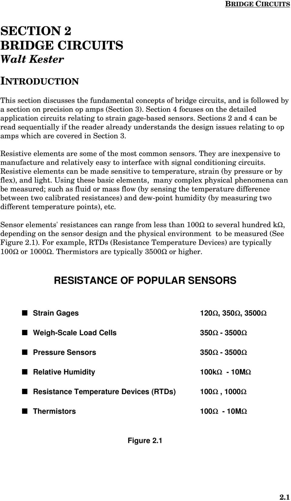 Practical Design Techniques For Sensor Signal Conditioning Pdf Photodiodes Ic Sections 2 And 4 Can Be Read Sequentially If The Reader Already Understands Issues