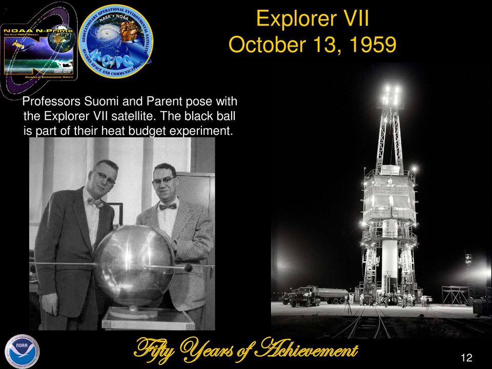 the Explorer VII satellite.