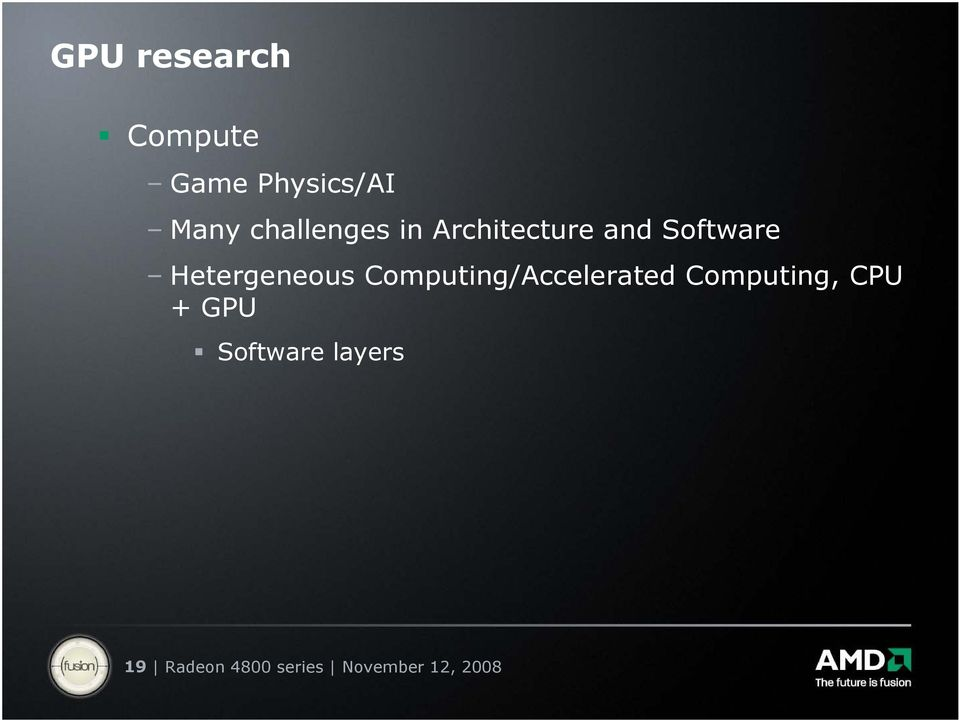 Hetergeneous Computing/Accelerated Computing,