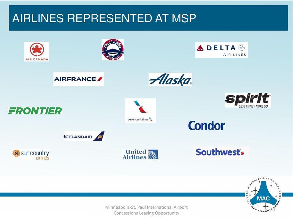 Airlines at