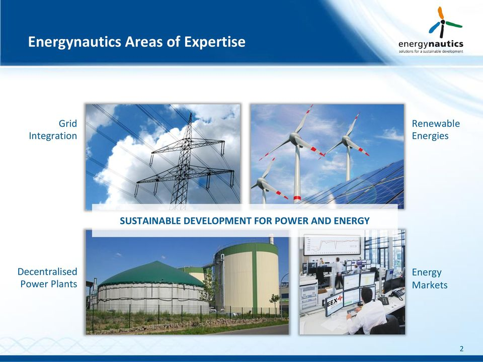 SUSTAINABLE DEVELOPMENT FOR POWER AND