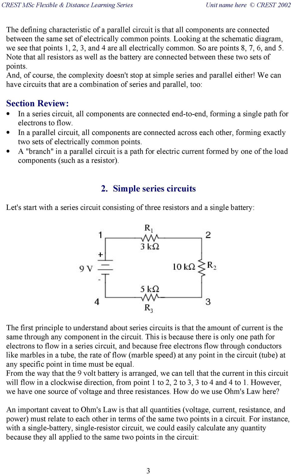 Fb Dc3 Electric Circuits Series And Parallel Pdf Commonly Found In Various Type Of Resistors Are A Note That All As Well The Battery Connected Between These Two Sets