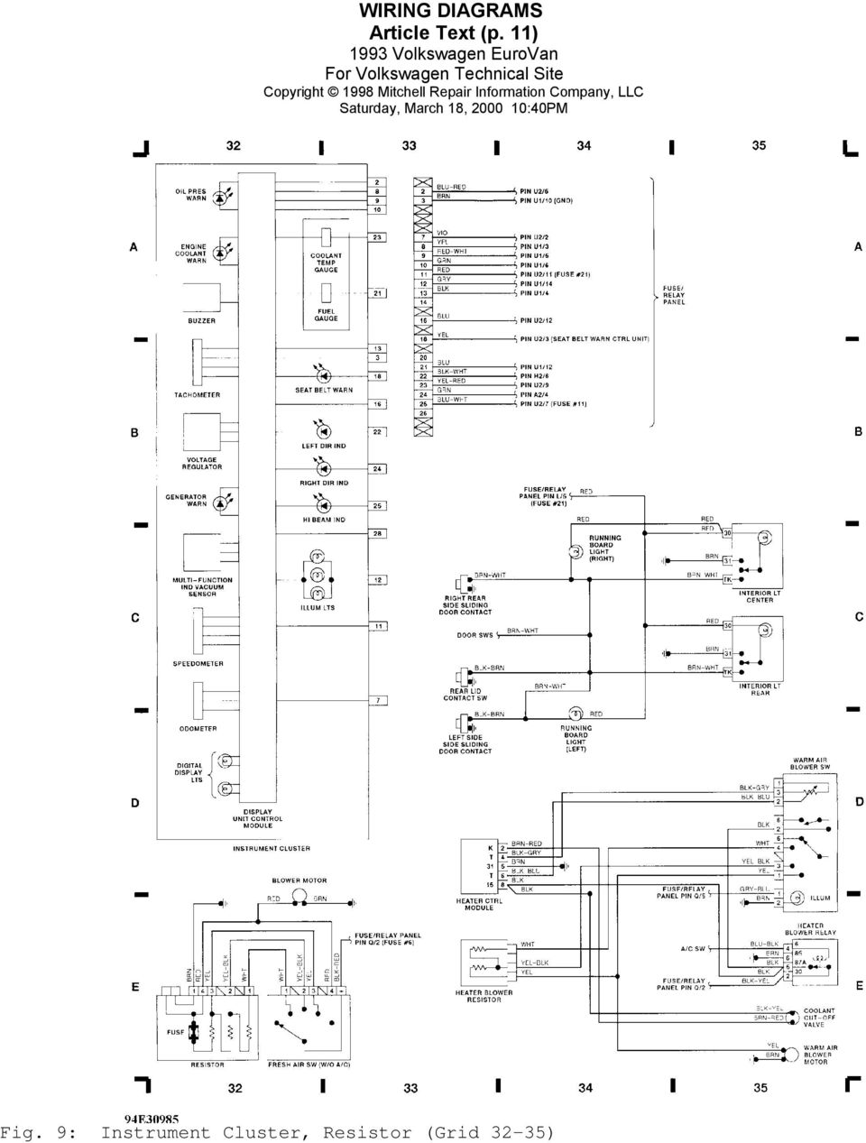 2002 eurovan wiring diagram 93 eurovan wiring diagram 1993 wiring diagrams volkswagen wiring diagrams ...