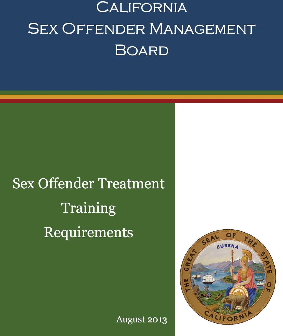 Offender Treatment