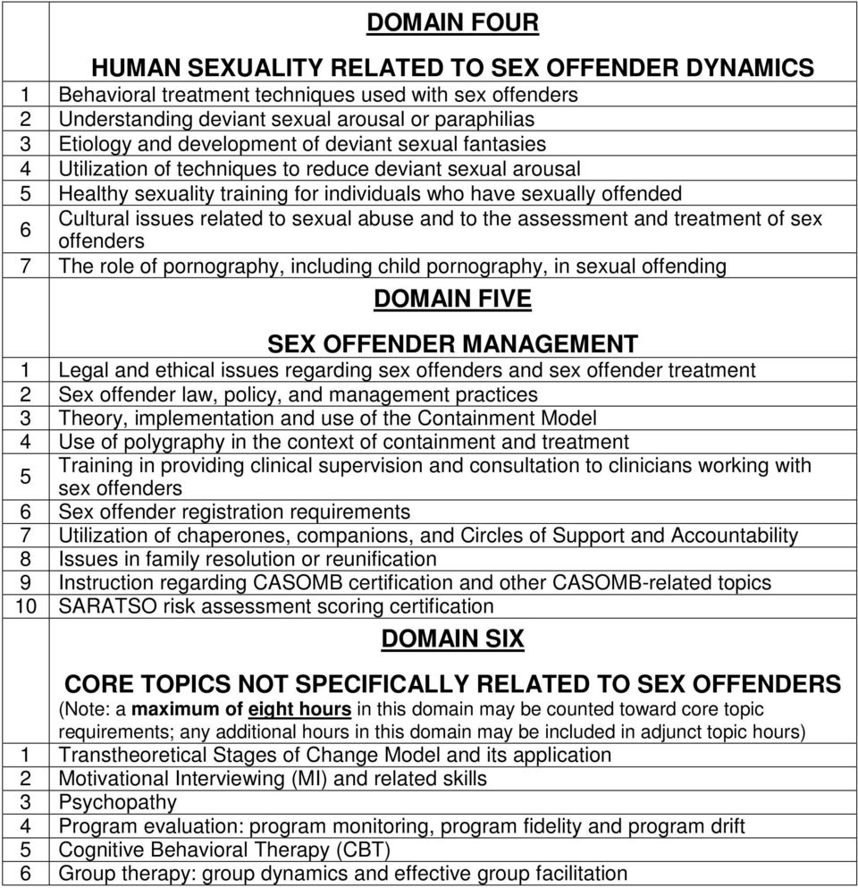 sex offender treatment certification