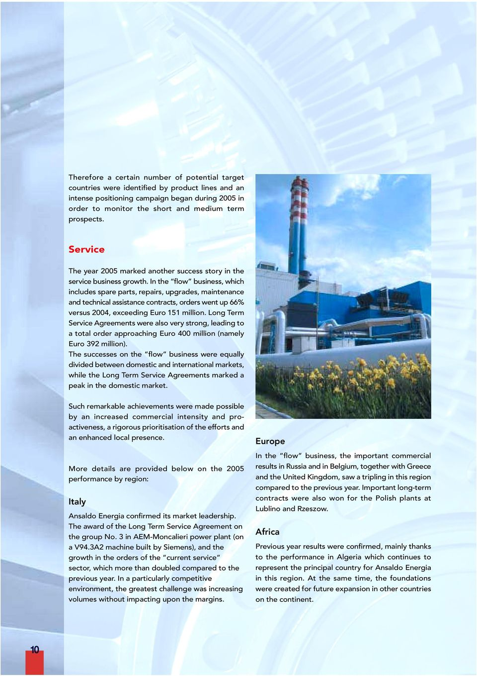 A Finmeccanica Company Annual Report Pdf Old Electrical Equipment Volex 3 Piece Ceiling Rose In The Flow Business Which Includes Spare Parts Repairs Upgrades Maintenance And