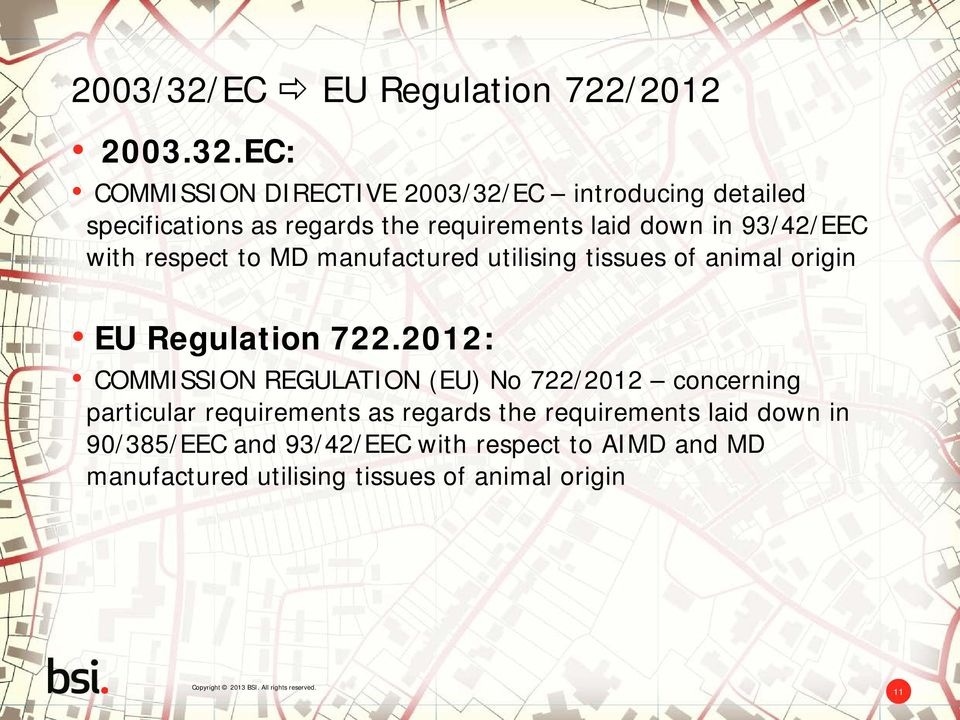 EC: COMMISSION DIRECTIVE EC introducing detailed specifications as regards the requirements laid down in 93/42/EEC