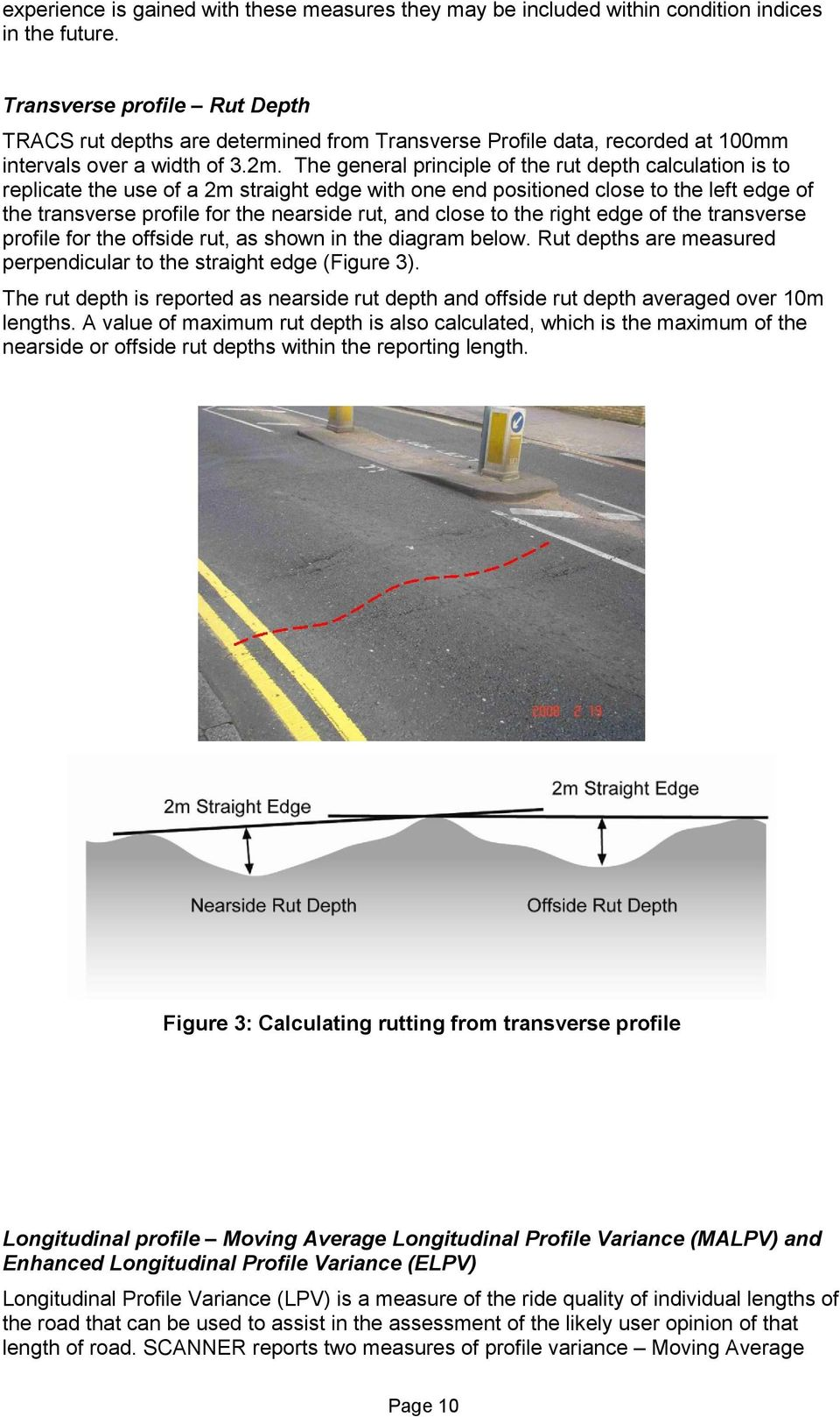 Technical Note: Road Condition and Maintenance data  Contents - PDF