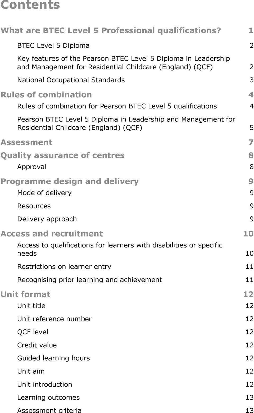 BTEC Level 5 Management And Leadership Certificate - Online