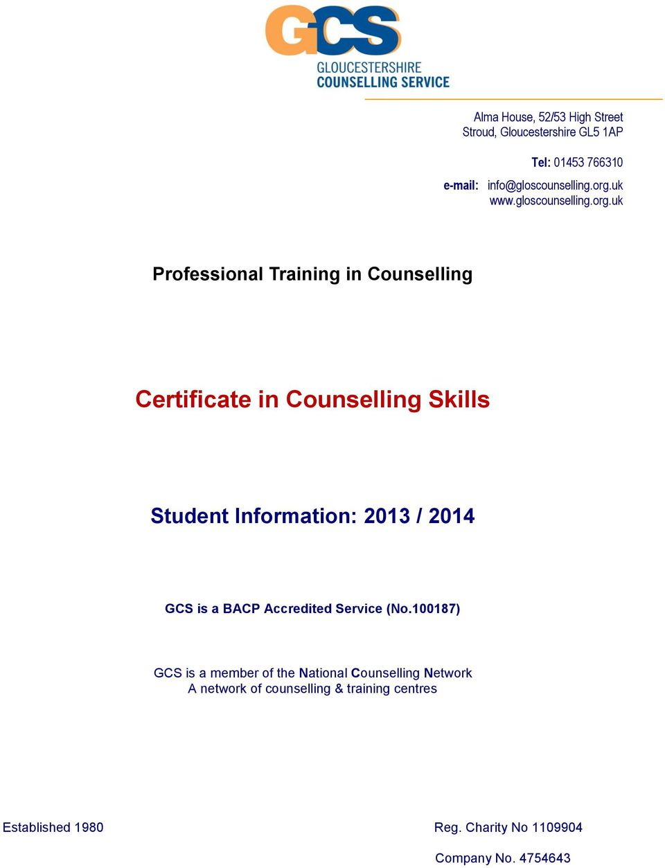 definition of counselling skills bacp