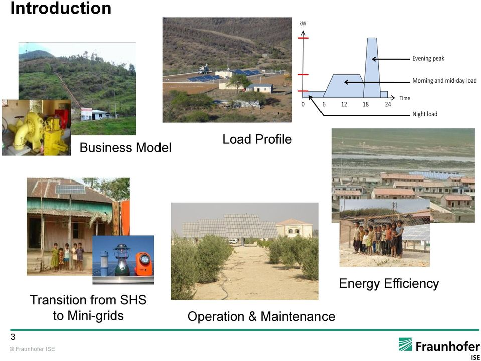 SHS to Mini-grids Operation &
