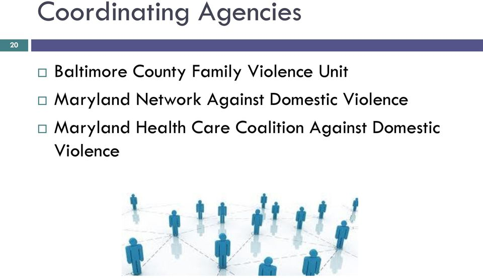 Network Against Domestic Violence