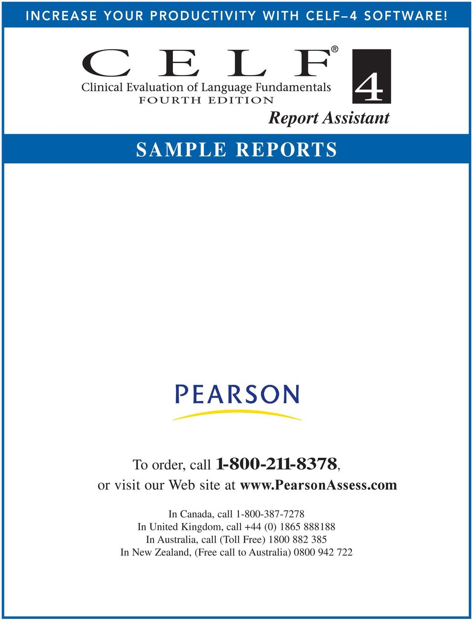 site at www.pearsonassess.