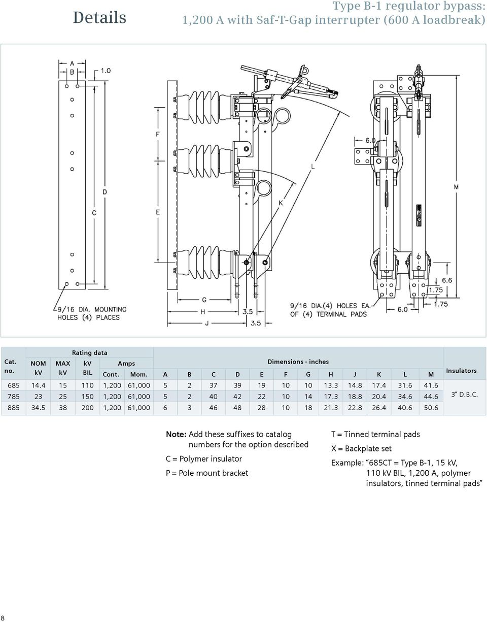 Bypass Switches Type B1 And B2 Answers For Energy Pdf. Wiring. 5 3 Dbc Wiring Diagram At Scoala.co