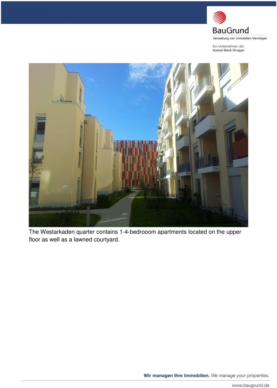 apartments located on the