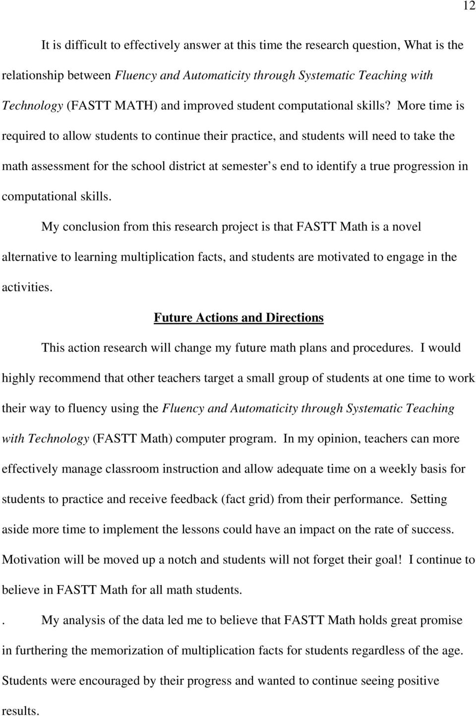 What Is The Relationship Between Fluency And Automaticity Through
