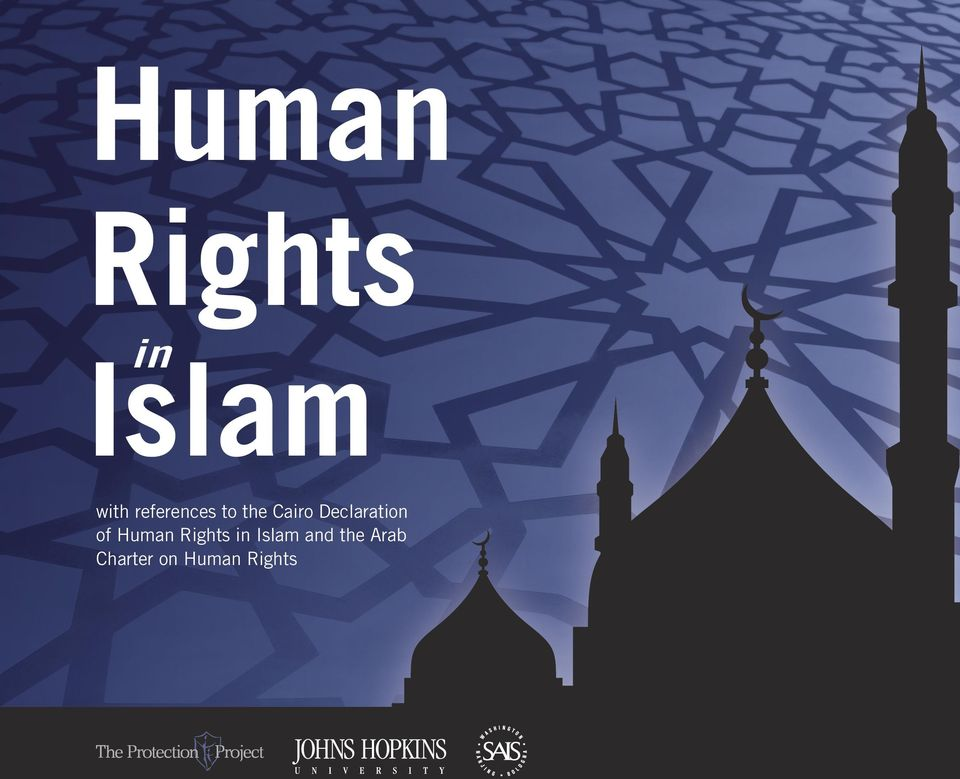 of Human Rights in Islam and the