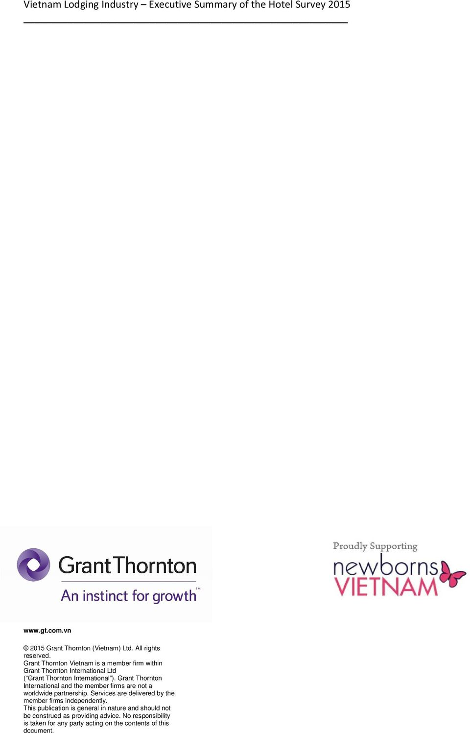 Grant Thornton International and the member firms are not a worldwide partnership.