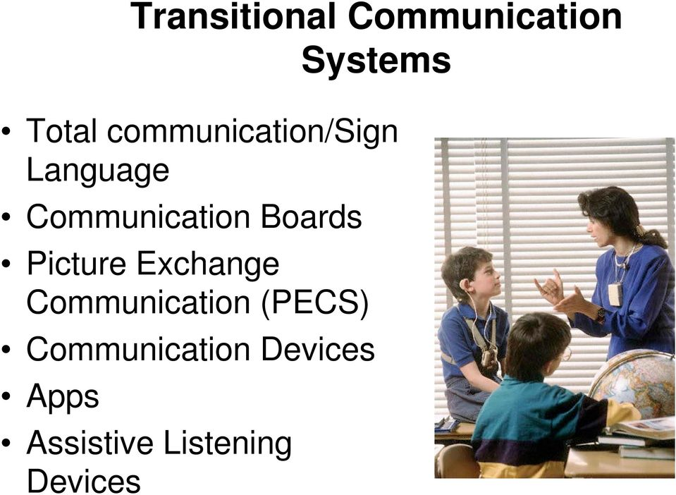 Boards Picture Exchange Communication (PECS)