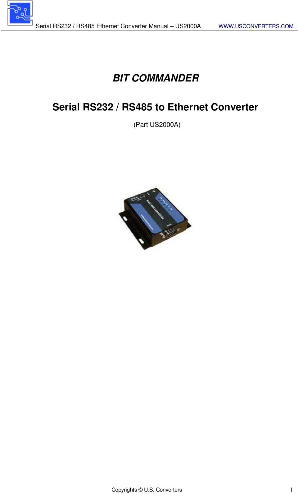 Ethernet Converter (Part