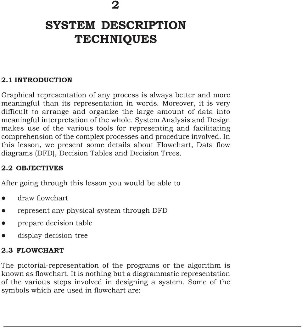decision table in system analysis and design pdf