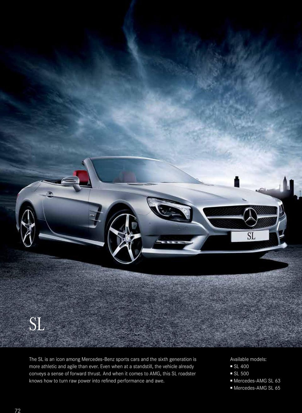 available models sl 400 sl 500 mercedes amg sl 63 mercedes amg sl 65 pdf. Black Bedroom Furniture Sets. Home Design Ideas