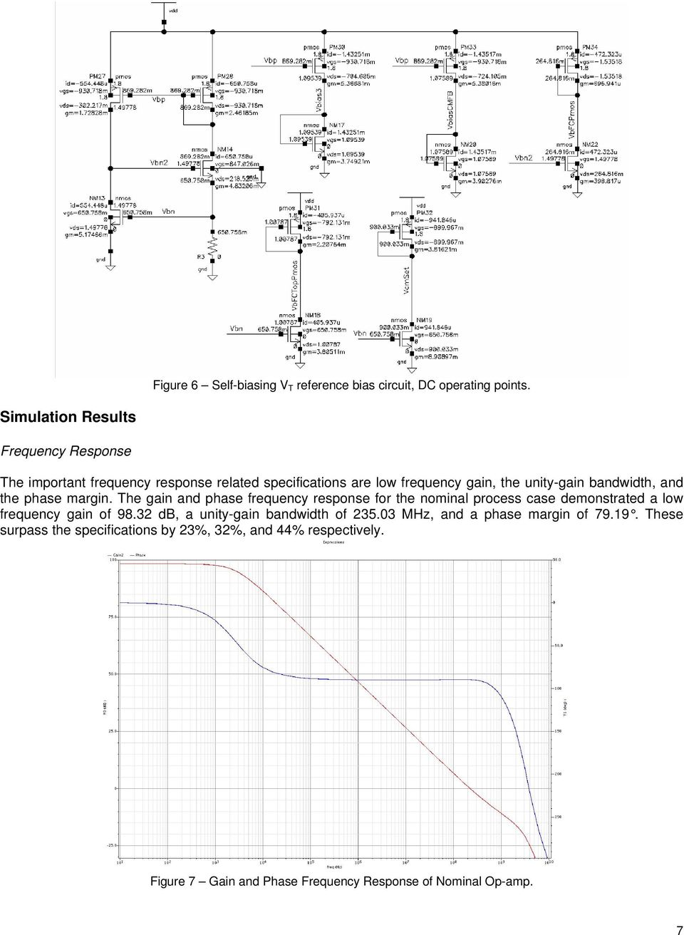 Fully Differential Cmos Amplifier Pdf Precision Quad Operational Circuit Bandwidth And The Phase Margin