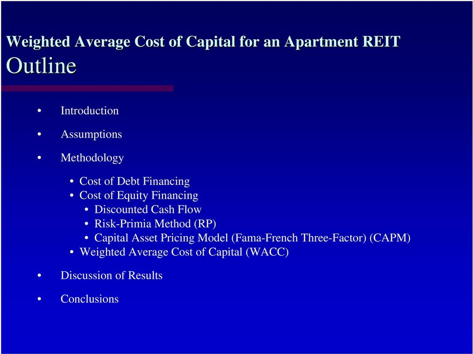 (RP) Capital Asset Pricing Model (Fama-French Three-Factor) (CAPM)