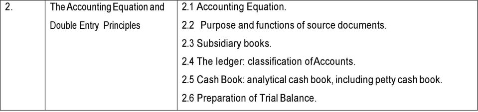 Wassce waec financial accounting syllabus pdf 24 the ledger classification of accounts 2 fandeluxe Choice Image